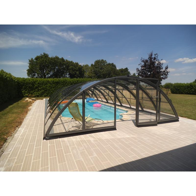 abri piscine 12×6