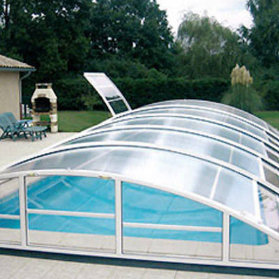 abri piscine 5x10