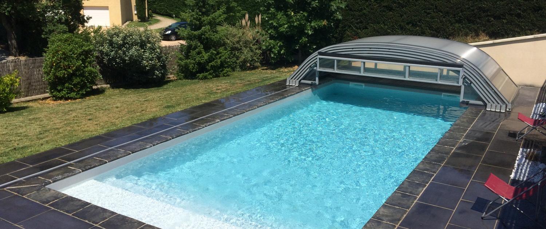abri piscine 6x12