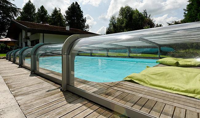 abri piscine 7x4