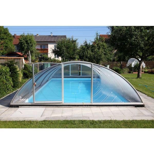 abri piscine 8 x 4
