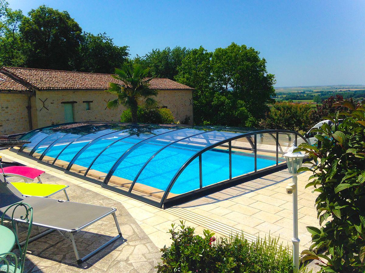 abri piscine 85