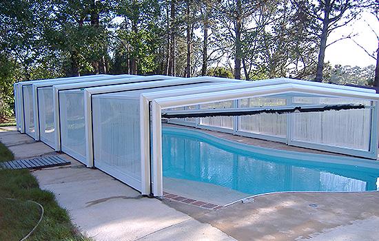 abri piscine aluminium