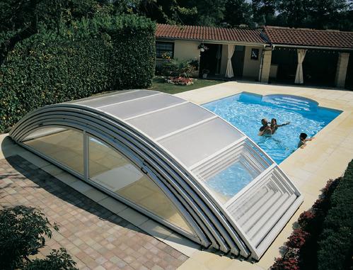 abri piscine amovible