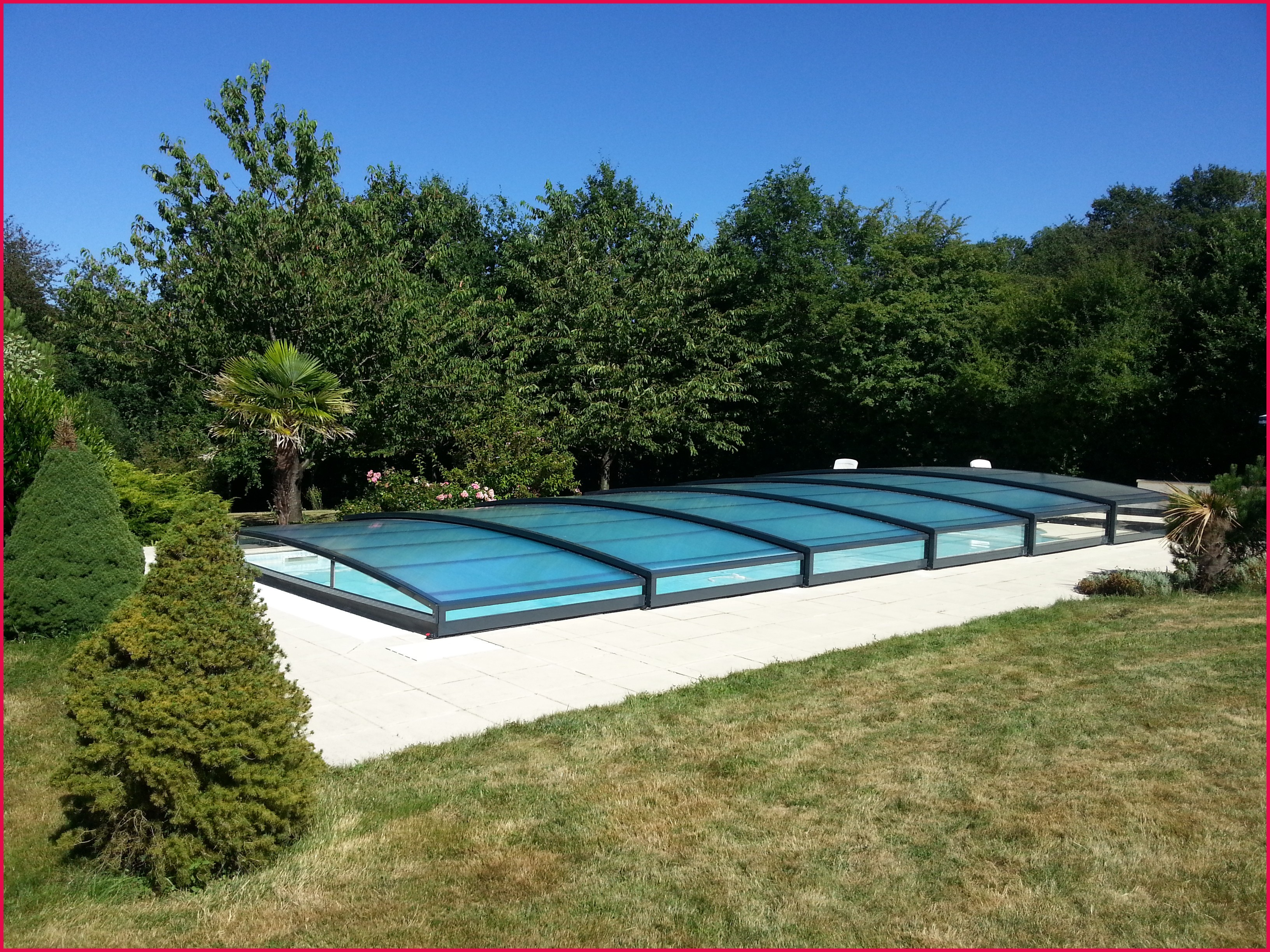 abri piscine bas occasion