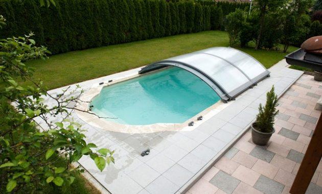 abri piscine bas pas cher