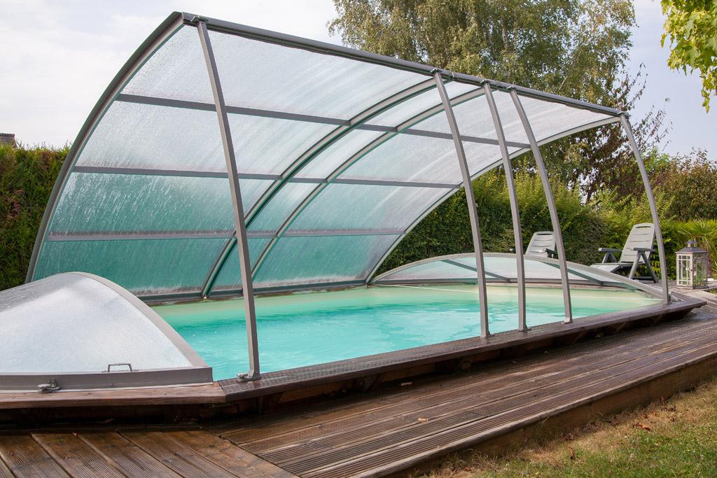 abri piscine bois hors sol
