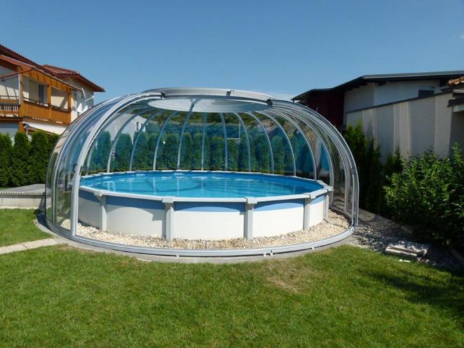 abri piscine bois hors sol. Black Bedroom Furniture Sets. Home Design Ideas