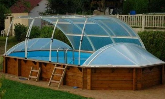 abri piscine carrefour