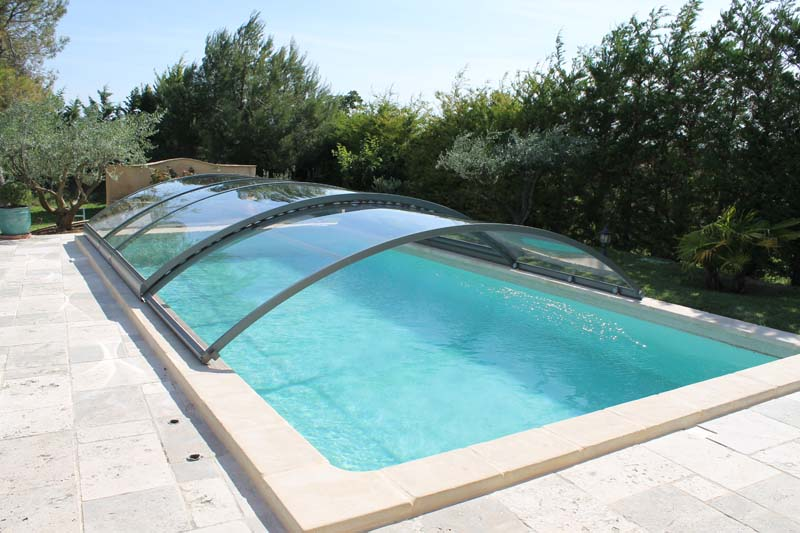 abri piscine cristal