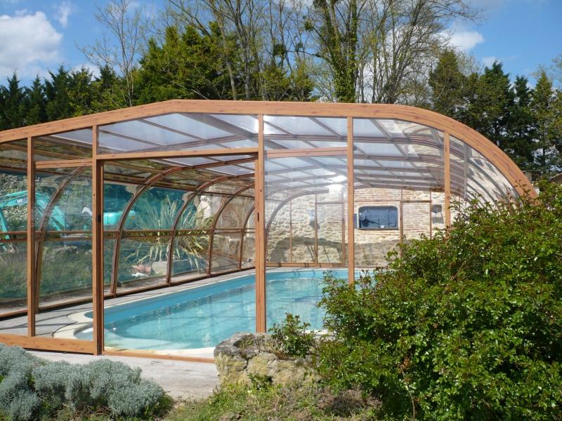 abri piscine en bois