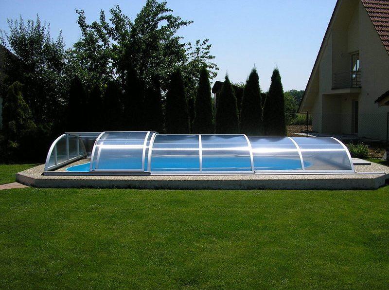 abri piscine en kit pas cher