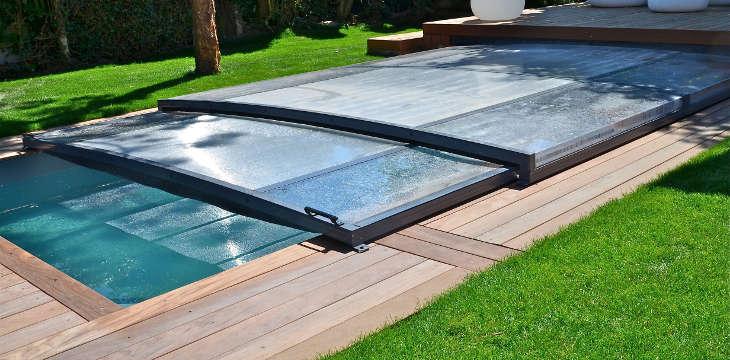 abri piscine extra plat