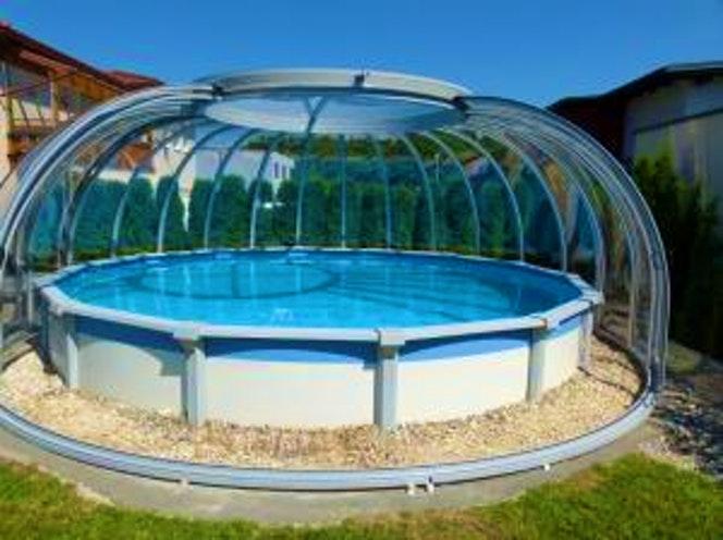abri piscine gladiator carrefour