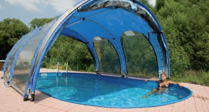 abri piscine gonflable occasion