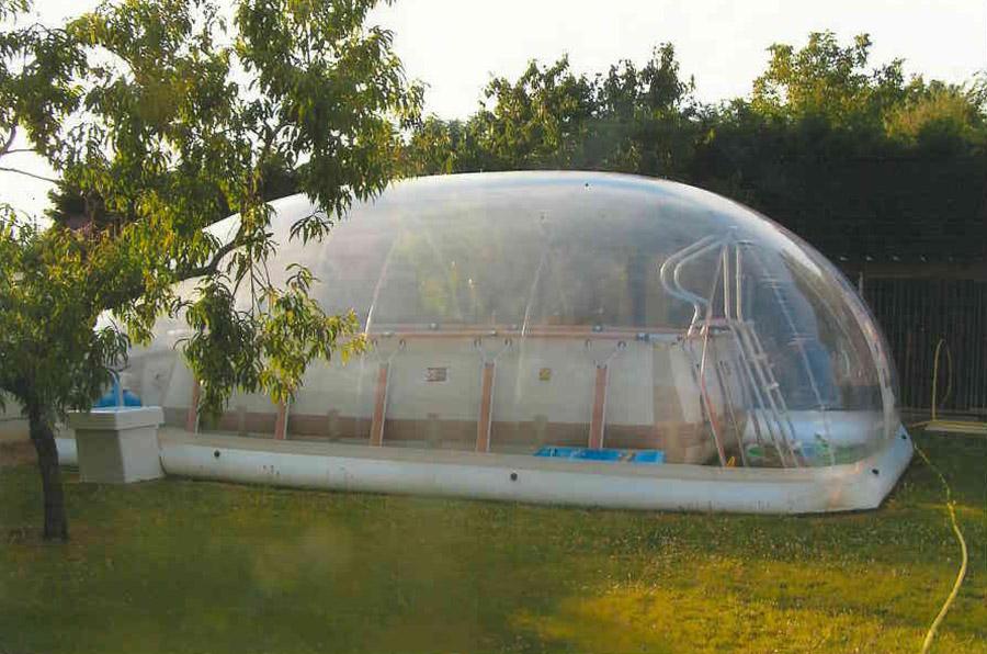 Abri piscine gonflable pas cher - Toboggan pour piscine hors sol intex ...
