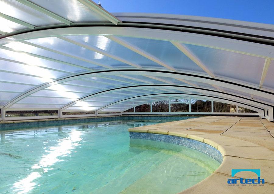 abri piscine grande largeur
