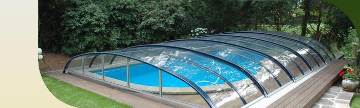 abri piscine haricot