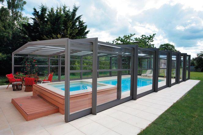 abri piscine haut coulissant