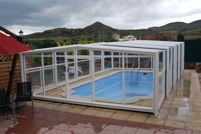 abri piscine haut pas cher