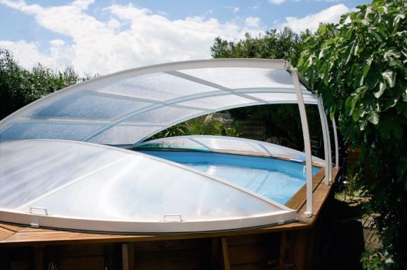 abri piscine hors sol bois. Black Bedroom Furniture Sets. Home Design Ideas