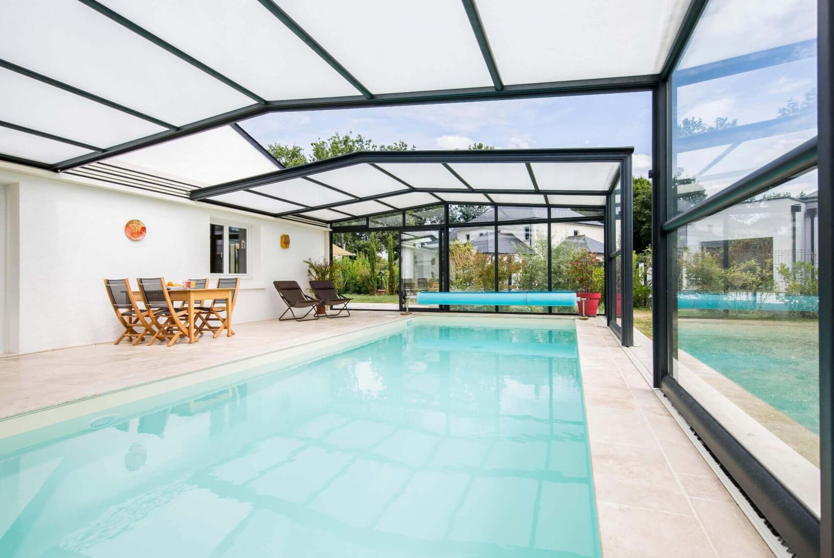 abri piscine isolant