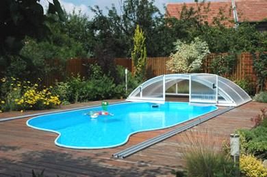 abri piscine kiteo
