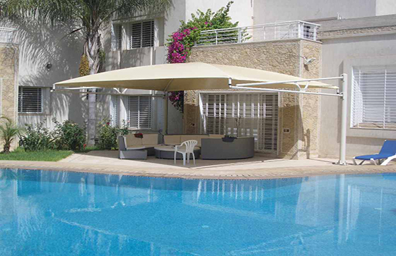 abri piscine maroc