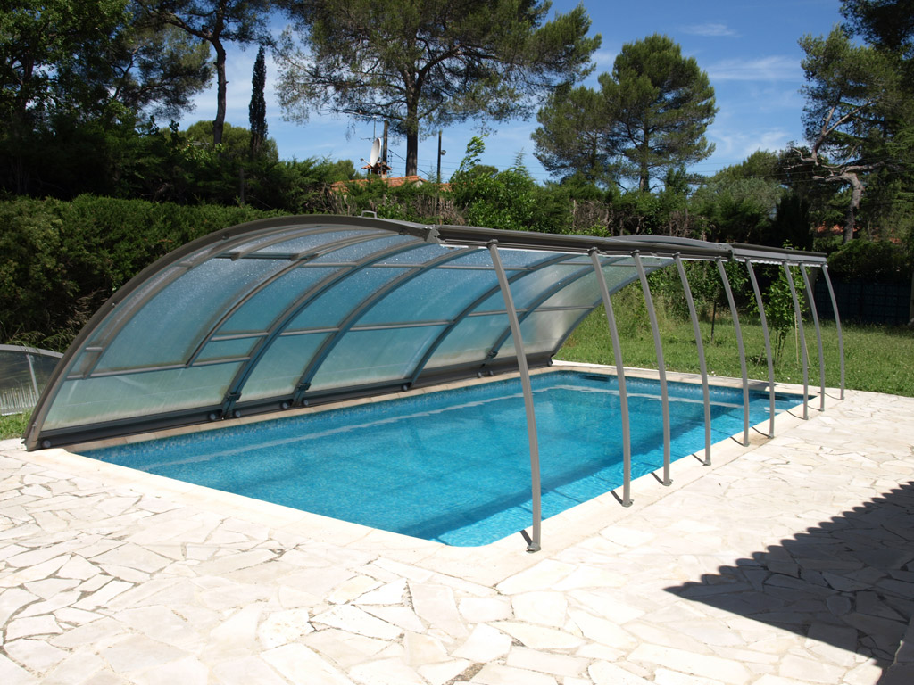 abri piscine mobile