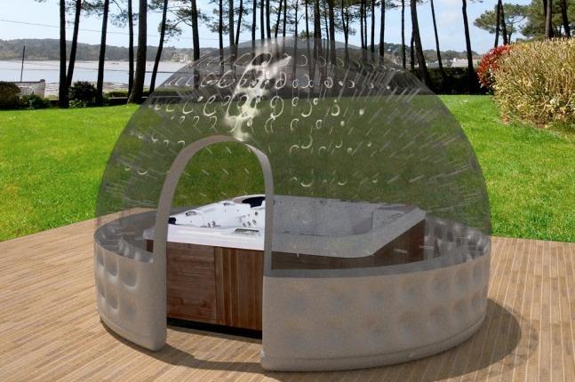 abri piscine pop up. Black Bedroom Furniture Sets. Home Design Ideas