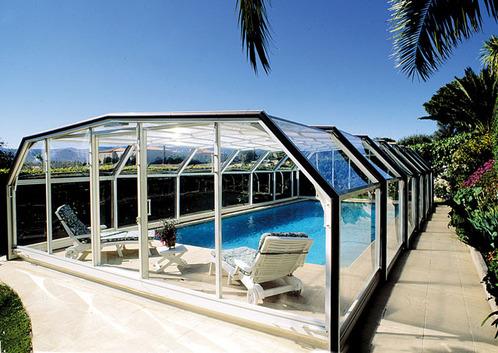 abri piscine pvc