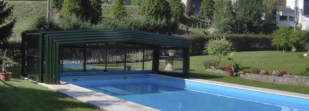 abri piscine retractable
