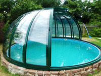 abri piscine ronde hors sol