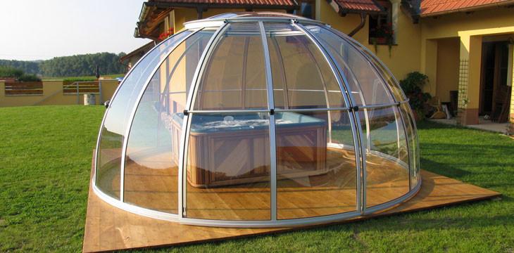 abri piscine ronde hors sol. Black Bedroom Furniture Sets. Home Design Ideas