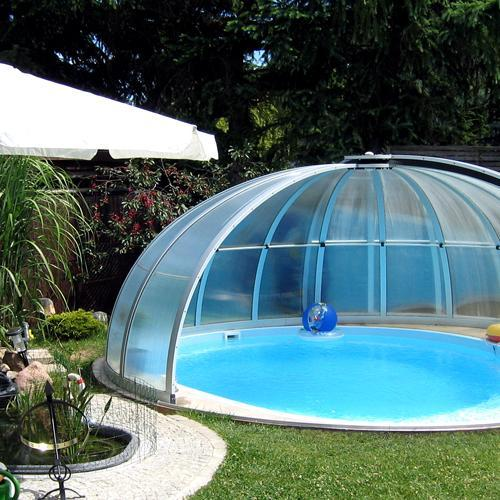 abri piscine ronde pas cher