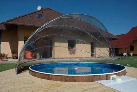 abri piscine ronde