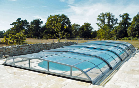 abri piscine telescopique occasion