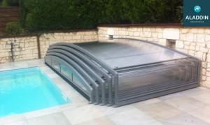 abri piscine telescopique pas cher
