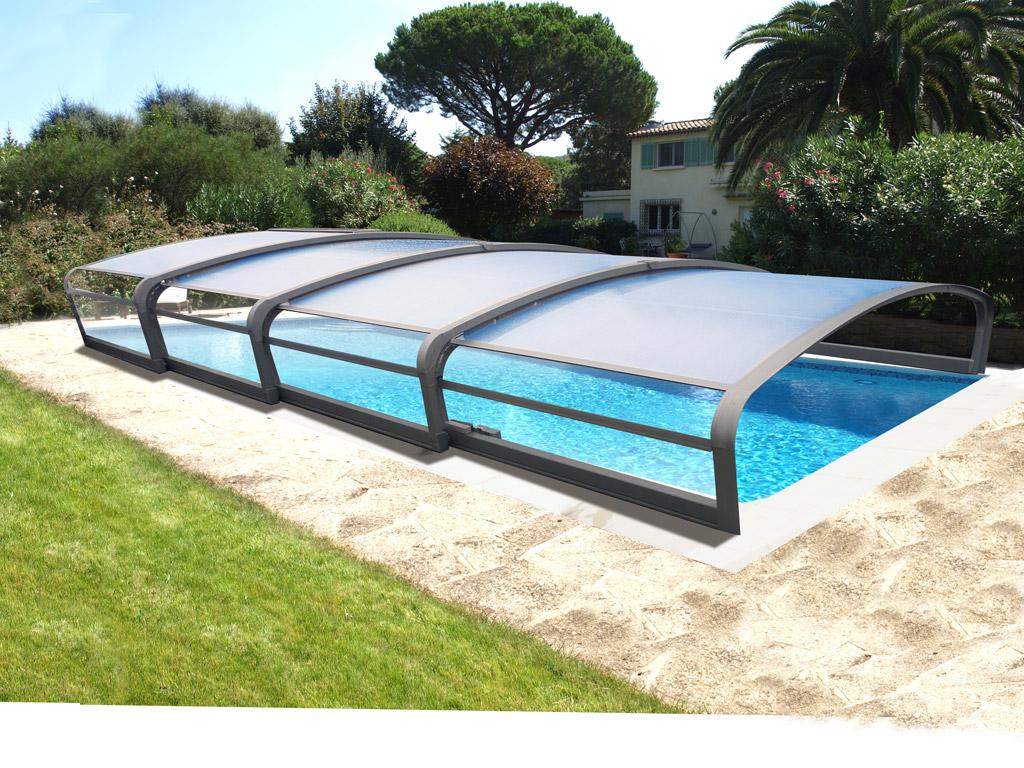 abri piscine telescopique