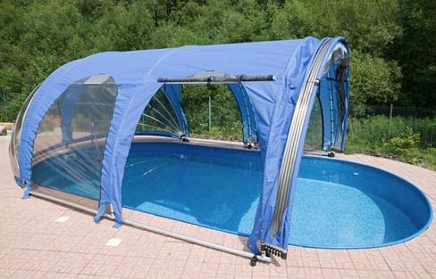 abri piscine toile airtex
