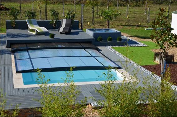 abri piscine ultra plat