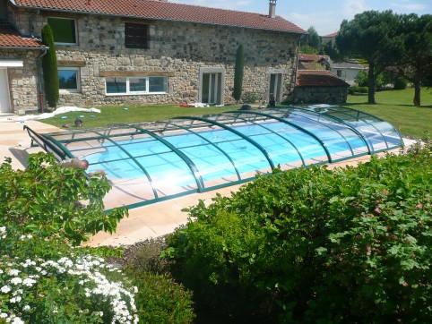 abri piscine vannes
