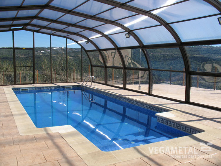 abri piscine vegametal