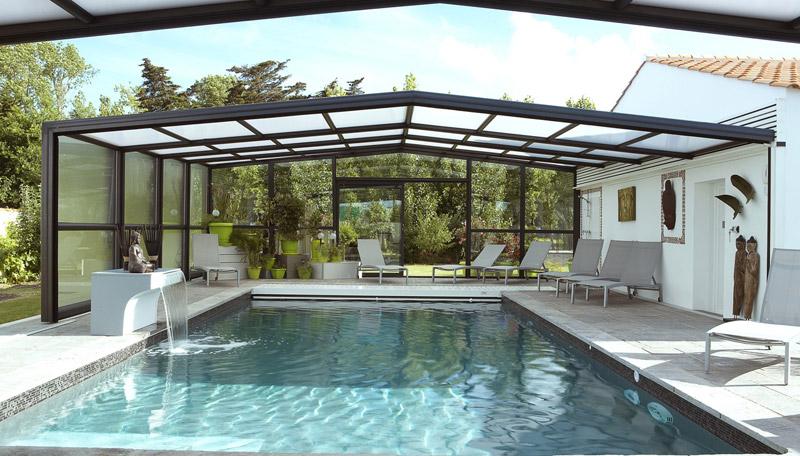 abri piscine veranda