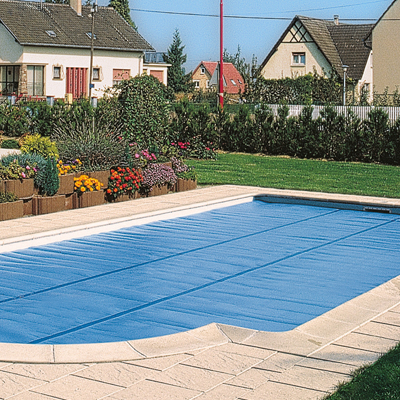 bache piscine 10x5