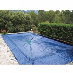 bache piscine 10x6