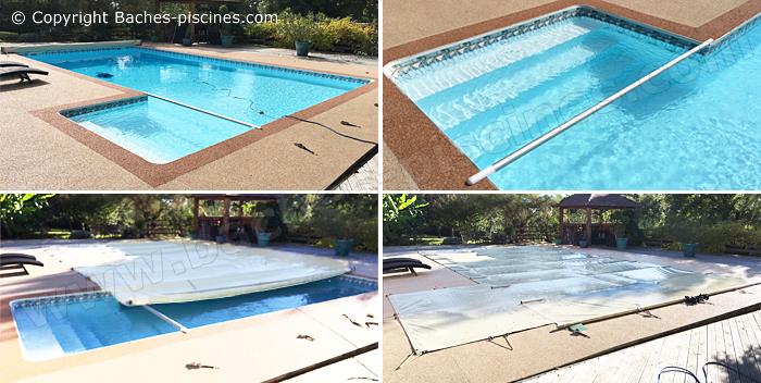 bache piscine 11x6