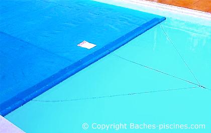 bache piscine 12x8