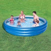 bache piscine 3 boudins