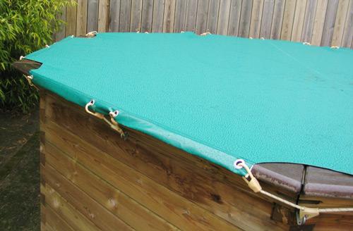bache piscine 4 60. Black Bedroom Furniture Sets. Home Design Ideas